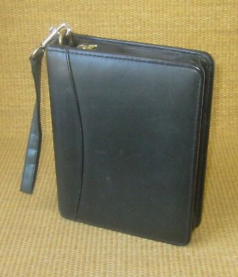 Compact 1.5 Gold Rings Green Leather Franklin Coveyquest Zip Plannerbinder