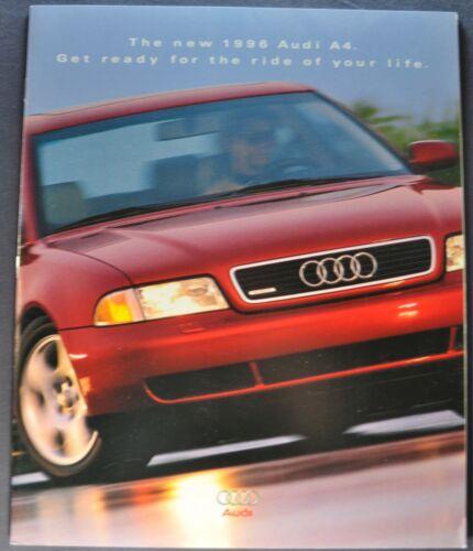 1996 Audi A4 Prestige Catalog Sales Brochure Excellent Original 96