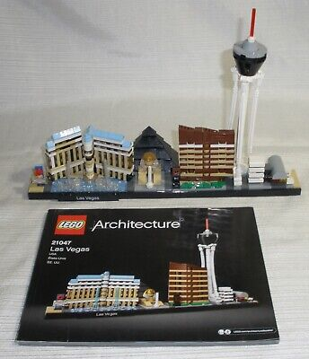 Lego Architecture Las Vegas (21047)  With Manual