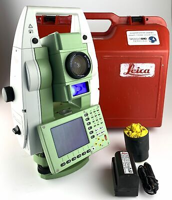 Leica Tcp1201 1 Robotic Total Station Watr And Ps Reconditioned