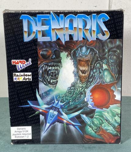 Computer Games - Commodore Amiga Denaris PC Computer Video Game w/ Manual & Box by Rainbow Arts