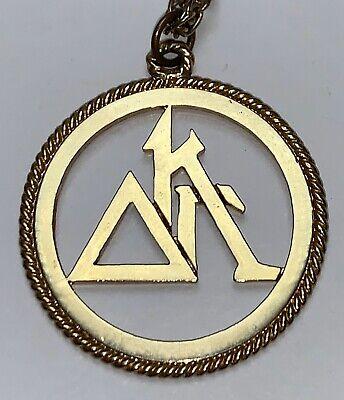 Vintage Delta Kappa Gamma International Women Educators Society Pendant Necklace