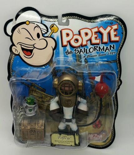 2004 Mezco Toyz Popeye the Sailor Man Deepdive Popeye Action Figure