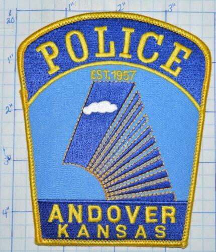 KANSAS, ANDOVER POLICE DEPT BLUE PATCH