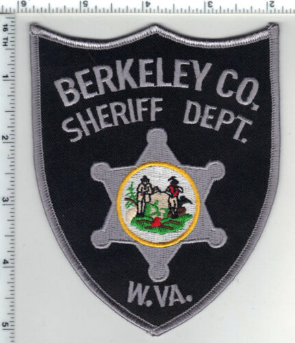 Berekeley County Sheriff Dept. (West Virginia) 4th Issue Shoulder Patch