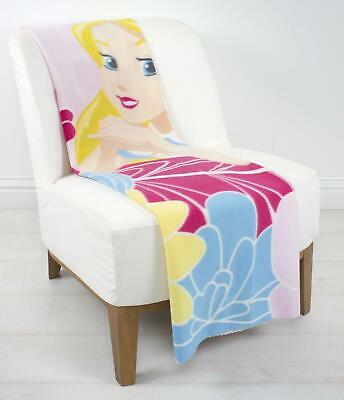 Alice In Wonderland 'Curious' Fleece Blanket By Character World