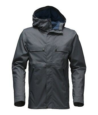 The North Face Jenison Waterproof Jacket DRYVENT DENIM MENS SMALL RAIN SNOWBOARD