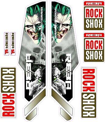 ROCK SHOX FORK fox Stickers Decals Mountain Bike Down Hill MTB #b0211