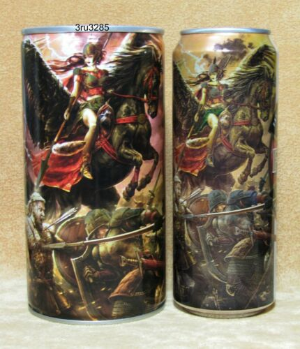 FAXE Valkyries  empty beer cans Limited Edition Russia NEW 2019 2pcs
