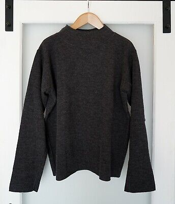 Margaret Howell T-shape Sweater - Charcoal Large