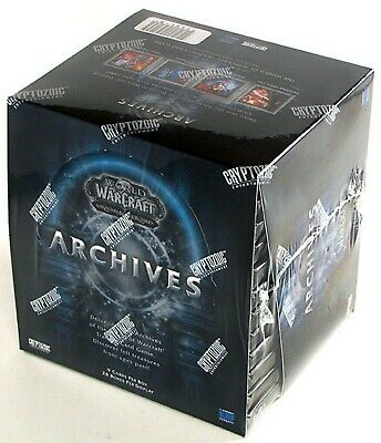 World of Warcraft WOW TCG Archives Booster Box SEALED Loot