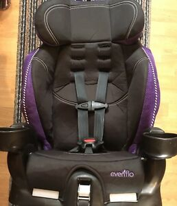 Evenflo girls' purple car seat