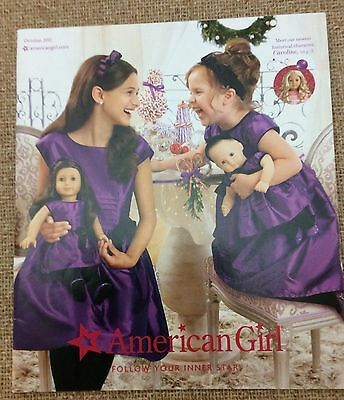 American Girl Doll October 2012 Caroline Marie-Grace Collector Catalog 72 Pages