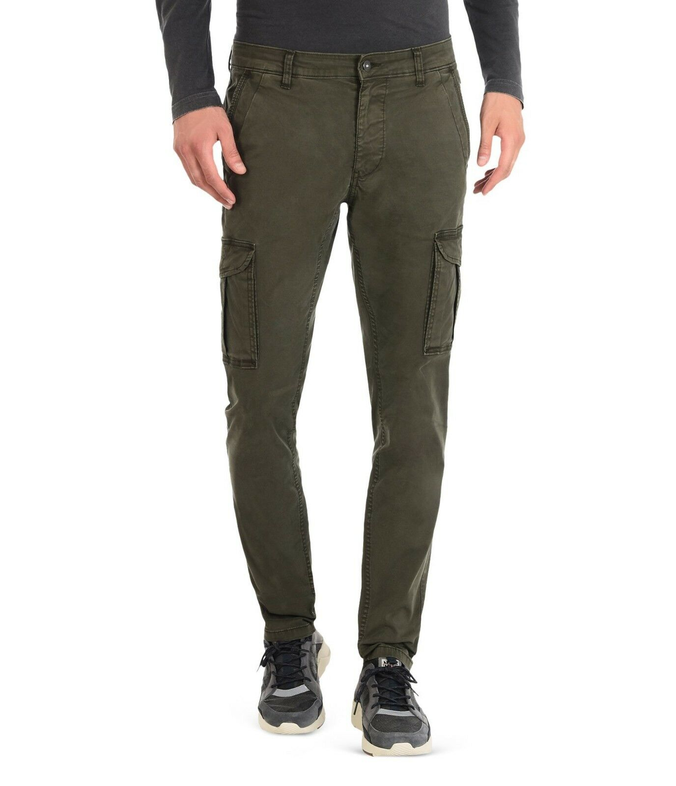 SCONTO 20% NAPAPIJRI PANTALONI CARGO MOTO STRETCH WINTER N0YGSA TASCONI TROUSERS