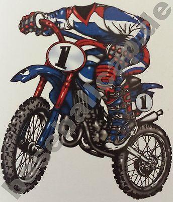 Kinder T-Shirt #610 Motocross Motorrad Biker, Children Kids