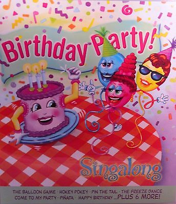 Birthday Party!! Sing a long Songs, New! CD, Childrens sing ,Happy ,Hokey Pokey  Birthday Party Songs Cd