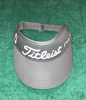 Titleist High Crown Visor ++ Brand New ++ Smoke Gray ++ Awesome +++++ Tour  Issue 5cb8f1d3466f