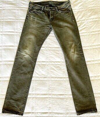 New Mastercraft Union Japanese Selvedge Selvage Denim Jeans 34 RRL Samurai $745