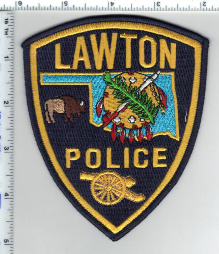 Lawton Police (Oklahoma) Shoulder Patch - new