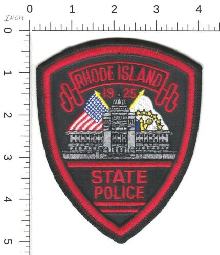 RHODE ISLAND STATE POLICE SHOULDER PATCH RI