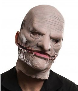SlipKnot Music Corey Taylor Mask with Removable Face Licensed Costume Latex