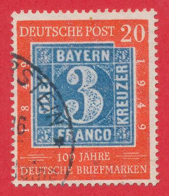 Bund 1949 - 100 Jahre deutsche Briefmarken - Bayern 2 - Mi-Nr. 114 - gestempelt