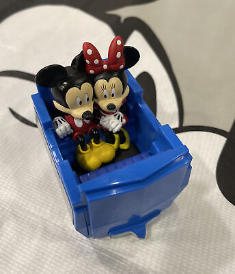 Disney Parks Tomorrowland People Mover Mickey Minnie Pull Back Toy Doors Open!