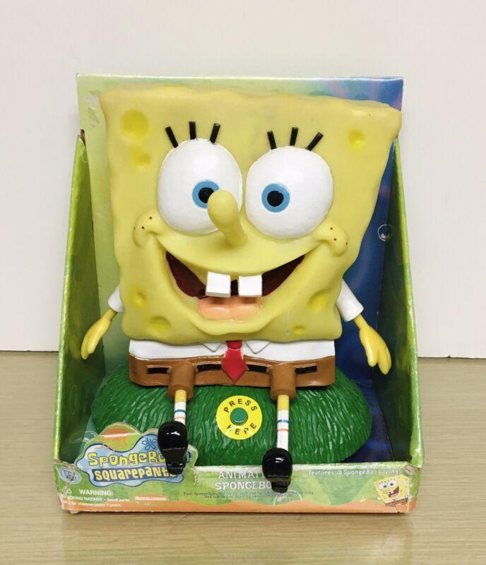 2002 Gemmy Ind - Spongebob Squarepants Animated figure. working NMIB