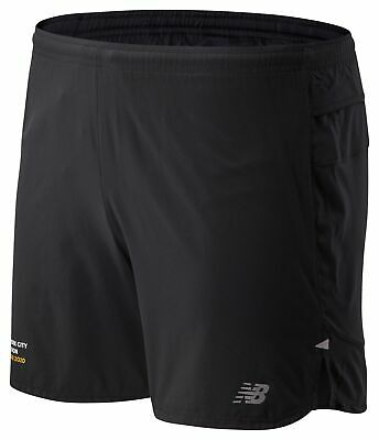 New Balance Men's 2020 NYC Marathon Impact Run 5 Inch Short Black