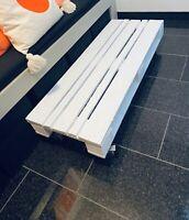 Paletten Sideboard Lowboard Tisch auf Rollen weiß ca. 46 x 120 cm Bayern - Kemmern Vorschau