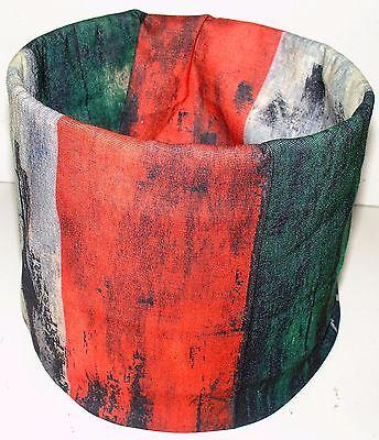 Rasta Jamaica Africa Stripe Tubular Multi Function Headwear Beanie Cap Raggae
