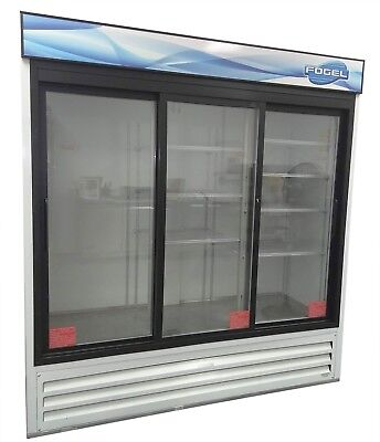 Fogel Vr-67-sd-us Refrigerator Commercial Three-section Reach In Cooler Retail