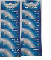 Eunicell - Lot De 10 Batterie A Bottone Cr1025 Litio 3v -  - ebay.it