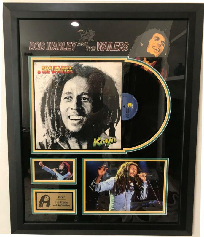 Original Bob Marley Signed Autograph Kaya Album