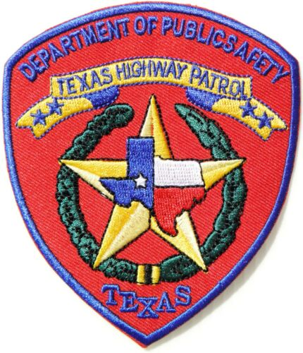 TEXAS HIGHWAY PATROL STATE POLICE PATCH