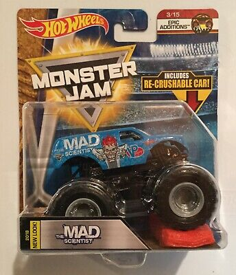 Hot Wheels Monster Jam Truck with Recrushable Car