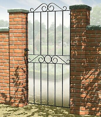 Ironbridge Scroll Top Tall Narrow Metal Gate 180cm x 77 cm DEAL!!!