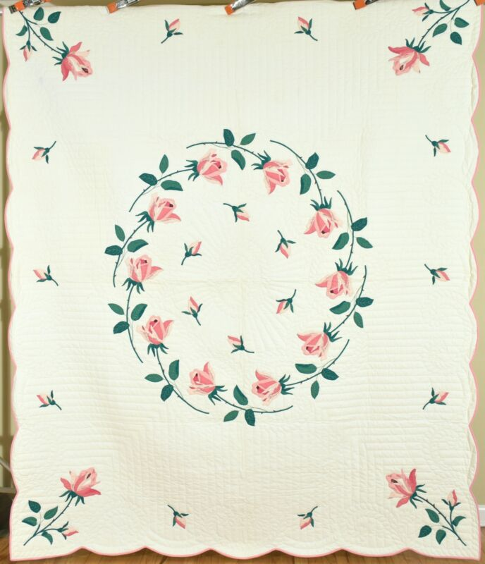 Large WELL QUILTED Vintage 30