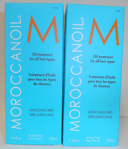 BEST PRICE BULK BUY TWIN PACK Moroccan Oil Hair Treatment 100ml with FREE Pump