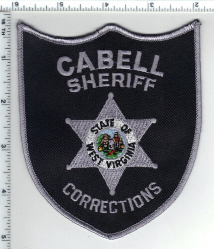 Cabell Sheriff Corrections (West Virginia) 5th Issue Shoulder Patch