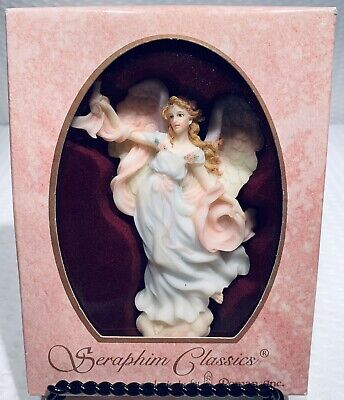 (1) Seraphim Classics Angel ornament by Roman Celeste Light of the World #78126 Seraphim Angel Ornaments