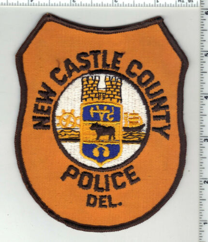 New Castle County Police (Delaware) 5th Issue Shoulder Patch