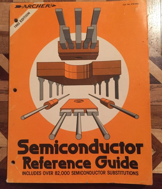 1982 Archer Semiconductor Replacement Guide Manual Radio Shack Sn629