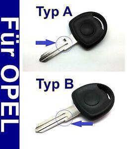 1 Stück Schlüssel Rohling Gehäuse für Opel Astra Combo Corsa Meriva Omega Tigra