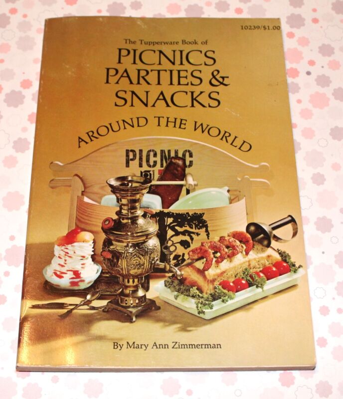 Picnics Parties & Snacks by Mary Ann Zimmerman / 1967 Paperback