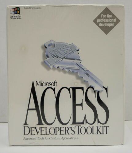 Microsoft ACCESS 2.0 Developer