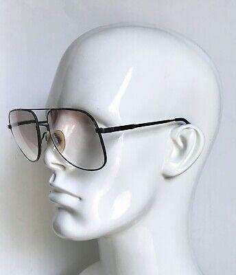 LUXOTTICA Neil Black Sunglasses • 140 • Aviators • Prescription Lens • (Prescription Sunglasses Aviators)