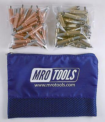 25 18 25 316 Cleco Sheet Metal Fasteners W Mesh Carry Bag K3s50-1