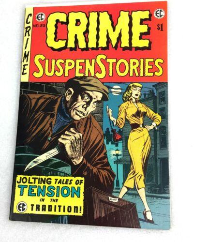 Crime SuspenStories #25 VINTAGE EC Comic Horror 1974