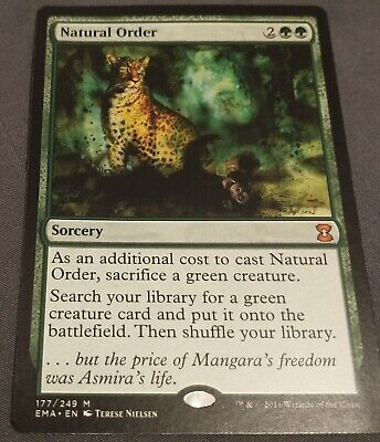 Natural Order - Eternal Masters - MTG NM Single Card - Great Condition!